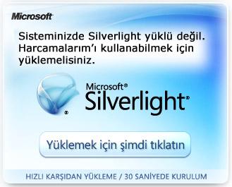 Silverlight'ı Yükleyin